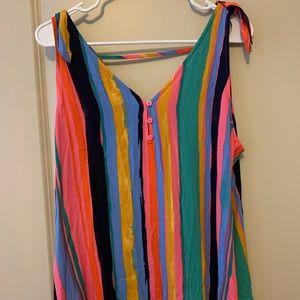 Colorful JCpenny top size L